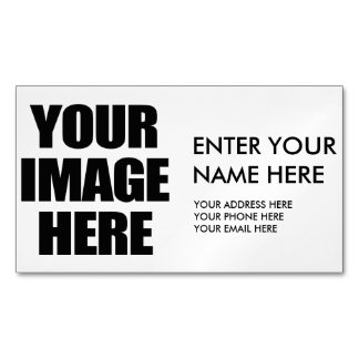 Customize This Magnetic Business Cards (Pack Of 25)