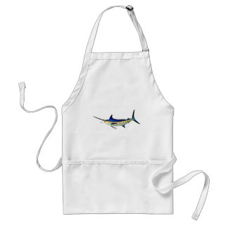 Customize this Marlin with your Boat Name Adult Apron