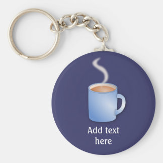 Customize this Mug of Coffee graphic Keychain