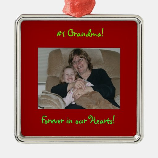 Customize this photo ornament