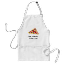 Customize this Pizza Slice graphic Adult Apron
