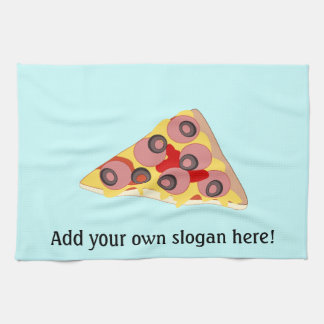 Customize this Pizza Slice graphic Kitchen Towel
