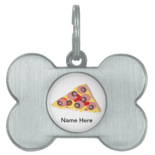 Italian Food Pet ID Tags | Zazzle