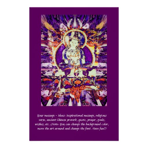Customize this Poster - Happy Buddha