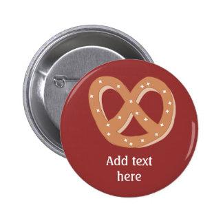 Customize this Pretzel Knot graphic 2 Inch Round Button