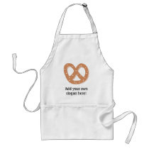 Customize this Pretzel Knot graphic Adult Apron