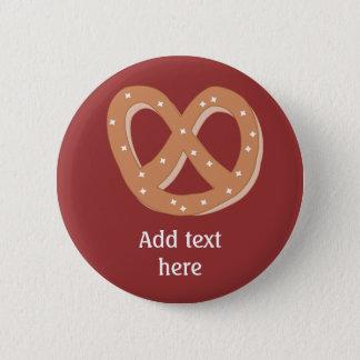 Customize this Pretzel Knot graphic Pinback Button