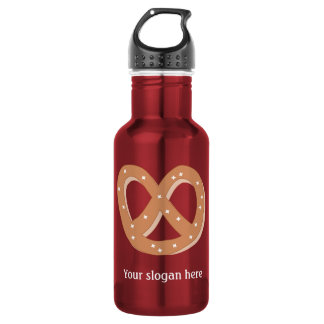 Customize this Pretzel Knot graphic Water Bottle