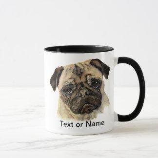 Customize this Pug - Watercolor Dog Mug