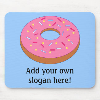 Customize this Ring Doughnut Graphic Mouse Pad
