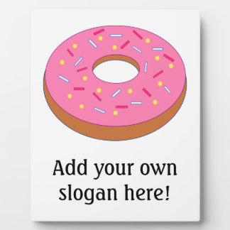 Customize this Ring Doughnut Graphic Plaque