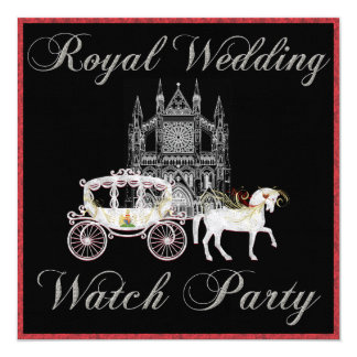 Customize THIS Royal Wedding Watch Party Invite