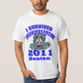 Customize This SNOWMAGEDDON Tshirt! T-Shirt