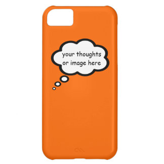 customize thought cartoon balloon case for iPhone 5C