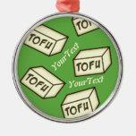 CUSTOMIZE Tofu Christmas Tree Ornaments