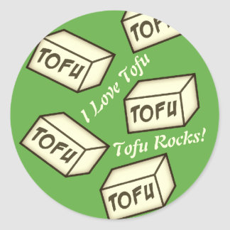 CUSTOMIZE Tofu themed Stickers