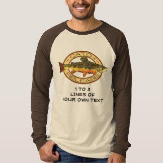 Customize Trout Fishing T-shirt