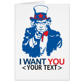 Funny Uncle Sam Cards, Funny Uncle Sam Card Templates, Postage ...