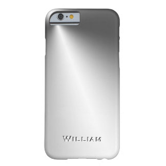 CUSTOMIZE UNIQUE 3D TEXT POPULAR METAL TEMPLATE BARELY THERE iPhone 6 CASE