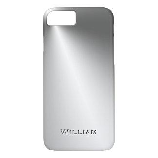CUSTOMIZE UNIQUE 3D TEXT POPULAR METAL TEMPLATE iPhone 8/7 CASE