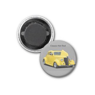 customize vintage car magnet