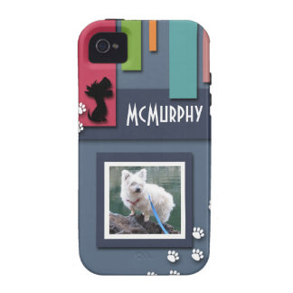 Customize w/ Your Dog Photo - Cairn Terrier Themed Case-Mate iPhone 4 Cases