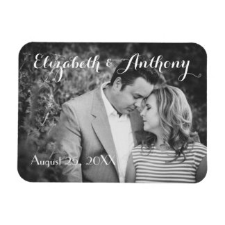 Customize with Photo Wedding Flexible Magnet