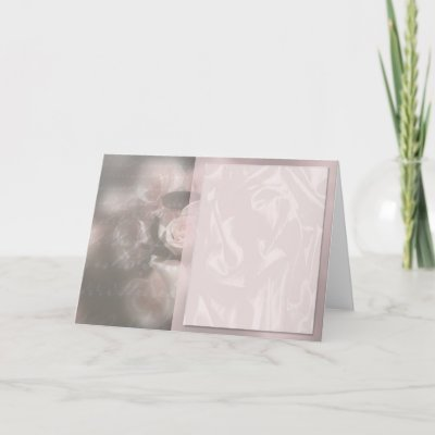 Customize With Text Wedding Invitation Greeting Card by TDSwhite