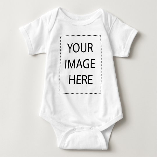 Customize with your companies logo or name baby bodysuit