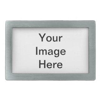 Customize with your companies logo or name rectangular belt buckle