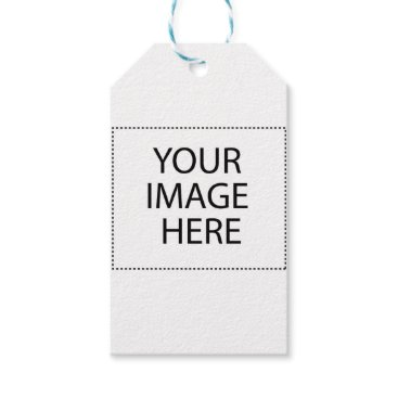 Professional Business Customize with Your Image Gift Tags