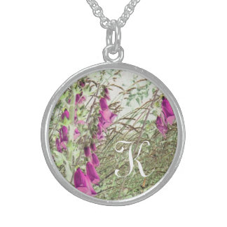 customize with your initial foxglove necklace