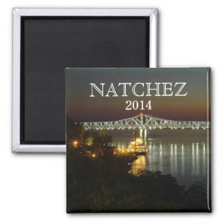 CUSTOMIZE YEAR - Natchez, Mississippi souvenir Magnet