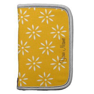 Customize Yellow & White Flowers Sleeves & Planner