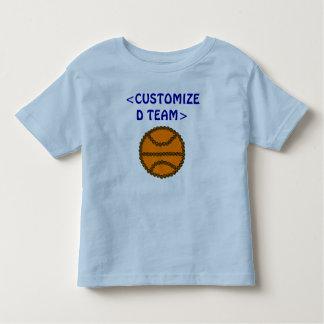 CUSTOMIZE - YOUR BASKETBALL TEAM NAME TODDLER T-SHIRT
