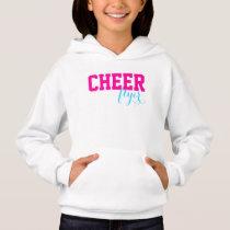 Customize your Cheerleading flyer sweatshirt