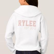 Customize your Cheerleading flyer sweatshirt Blush