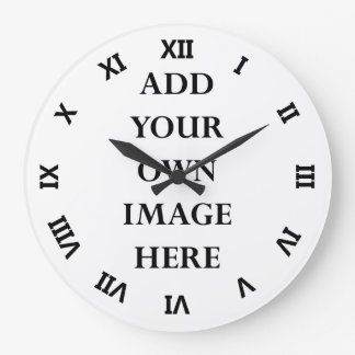 customize your clock roman numerals turned