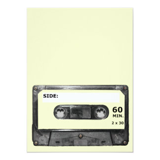 Customize Your Color Cassette Card