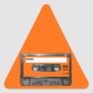 Customize Your Color Cassette Triangle Sticker