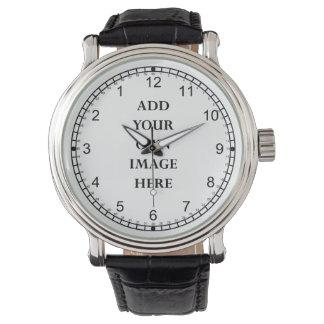 customize your crazy backwards watch portrait