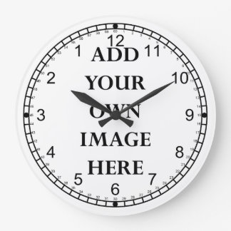 customize your crazy reverse dial clock