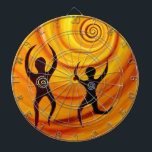 """Customize your Dart Board<br><div class=""""desc"""">Use this image,  &quot;Dance with Life&quot; or insert your own.  A great idea for a one of a kind gift.</div>"""