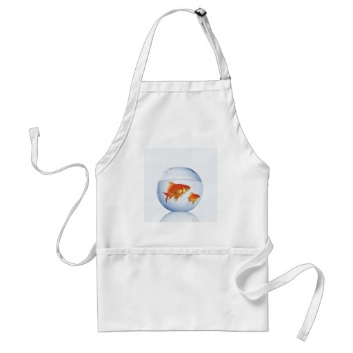 CUSTOMIZE YOUR FISH BOWL ITEMS APRON