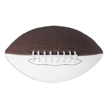 Customize Your Football For Games One Panel by CREATIVESPORTS at Zazzle