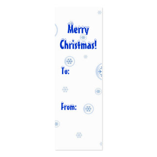 Customize your gift tags! business card