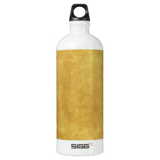 CUSTOMIZE YOUR GOLD BACKGROUND ALUMINUM WATER BOTTLE