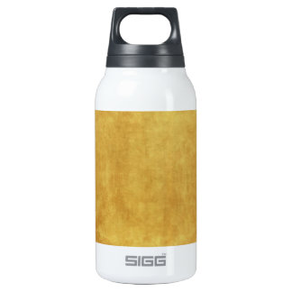 CUSTOMIZE YOUR GOLD BACKGROUND INSULATED WATER BOTTLE