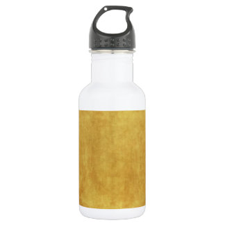CUSTOMIZE YOUR GOLD BACKGROUND STAINLESS STEEL WATER BOTTLE