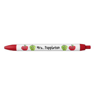 "Customize Your ""Happy Apples Teacher"" Pen"